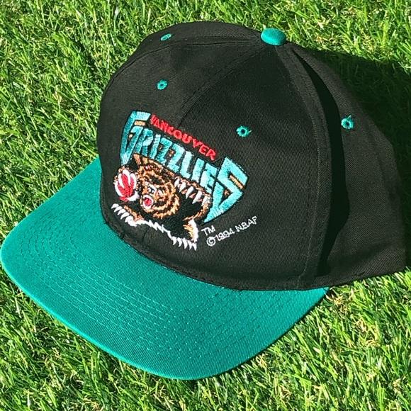 Vancouver Grizzlies Vintage 1994 SnapBack Hat NBA